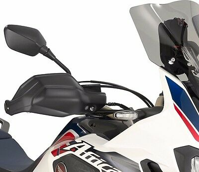 GIVI HP1144 HAND GUARDS  PROTECTORS pair BLACK Honda CRF1000 AFRICA TWIN 2016 17
