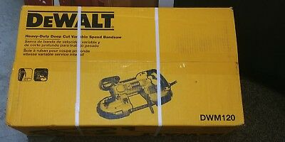 DeWalt DWM120 Heavy-Duty Deep Cut Variable Speed Bandsaw*  *NEW*FAST-SHIP