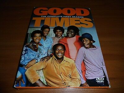 Good Times - The Complete First Season (DVD, 2003, 2-Disc Set) Used 1 1st One