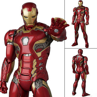 Medicom TOY MAFEX No.022 Avengers Age of Ultron: IRON MAN MARK MK XLV 45 Genuine