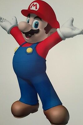 Super Mario Arms Standing A4 Poster Picture Print A4 Wall Art Kids Children