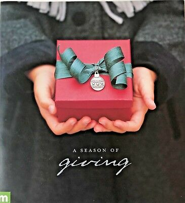 Making  Memories A Season of Giving Ornament Home Decor Tags  Card NEW