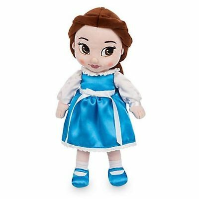Disney Store Animators Collection Belle Plush Doll Disney Parks NWT SHIPS FREE