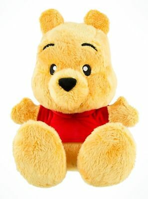 Disney Winnie the Pooh Bear Big Feet Plush Disney Parks Doll NWT FREE SHIPPING