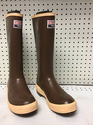 "Xtratuf 15"" Insulated Copper Tan Neoprene Boot- size 7"