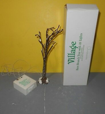 Department 56 Village Snow Frosted Bare Branch Tree With 25 Lights #52434