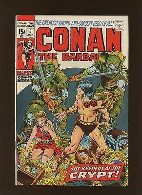 Conan the Barbarian 8 VF 8.0 * 1 Book Lot * Roy Thomas & Barry Windsor-Smith!