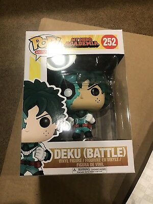 Funko Pop Deku Battle #252 My Hero Academia Brand New From Popcultcha