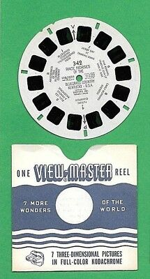 Viewmaster Reel 342 Race Horses of the Blue Grass Country Kentucky c.1952