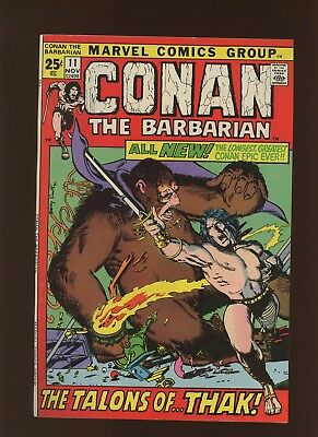 Conan the Barbarian 11 FN/VF 7.0 * 1 Book Lot * 52 Pages! Barry Windsor-Smith!