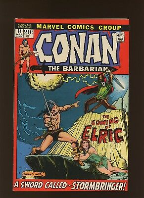 Conan the Barbarian 14 VF 7.5 *1 Book* Sword Called Stormbringer! Windsor-Smith!