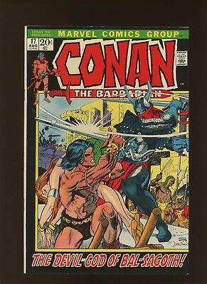 Conan the Barbarian 17 VF 7.5 * 1 Book Lot * Gods of Bal-Sagoth by Thomas & Kane