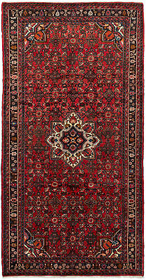 """Hand-knotted Persian Carpet 5'4"""" x 10'4"""" Persian Traditional Wool Rug"""