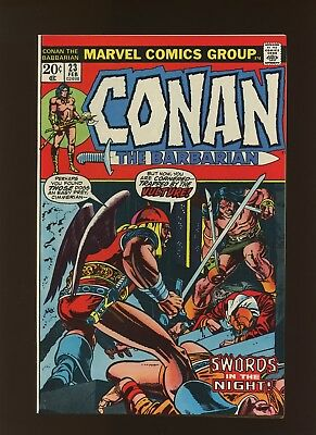 Conan the Barbarian 23 VF/NM 9.0 * 1 Book * 1st Red Sonja! Barry Windsor-Smith!