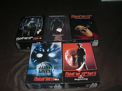 Neca Friday The 13Th Ultimate Master Set 5 Jason Voorhees Figures Part 2 3 4 5 6