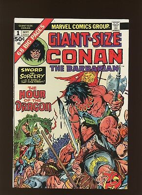 Giant-Size Conan the Barbarian 1 FN/VF 7.0 *1 Book* Barry Windsor-Smith Gil Kane