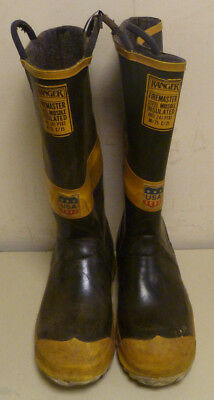 Ranger FireMaster Firefighter Turnout Gear Boots Steel Toe Size 9 R248
