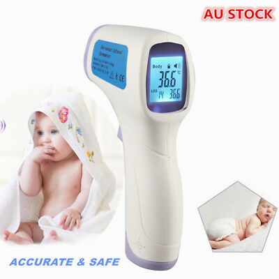 Baby/Adult Digital Thermometer Non-Contact Infrared IR Body Forehead Nurse Babys