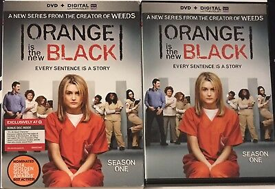 Orange Is The New Black: Season 1 [DVD + Digital] With Slipcover
