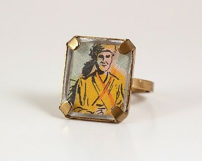 Unusual Davy Crockett Ring