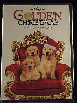 A Golden Christmas (DVD 2010 Widescreen) NEW Holiday Family Retriever Puppy Dog