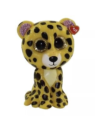 917de835afe 2018 TY Beanie Mini Boo Series 3 Collectible Figure SPECKLES The Yellow  Leopard