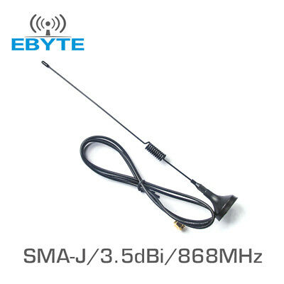 SMA gsm gprs 315mhz small suction cup antenna cable 1.5m 3dbi magnetic base  Jw