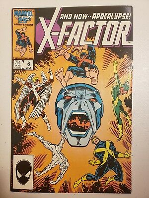 X-Factor #6 (1986) First appearance Apocalypse