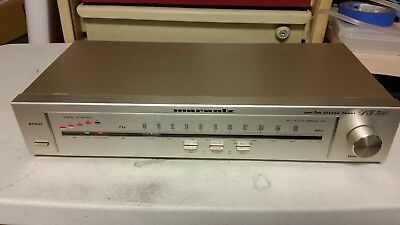 Marantz ST 310 AM/FM Stereo Tuner compact size works well
