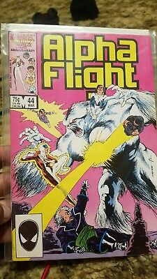 Alpha Flight #44 (Apr 1986, Marvel)