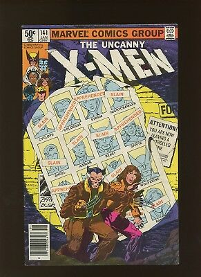 X-Men 141 FN+ 6.5 * 1 Book Lot * Days of Future Past Part One! Claremont & Byrne