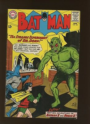 Batman 154 FN+ 6.5 * 1 Book Lot * 3 Stories by batman Co-Creator Bill Finger!