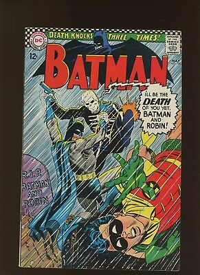 Batman 180 VF 7.5 * 1 Book * 1st Death Man! Robert Kanigher & Sheldon Moldoff!