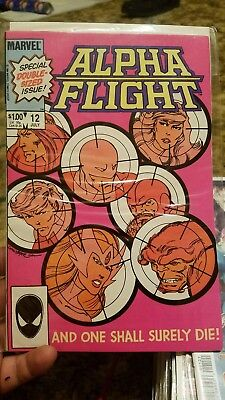 Alpha Flight (1983 series) #12 in Very Fine + condition. Marvel comics [*nh]