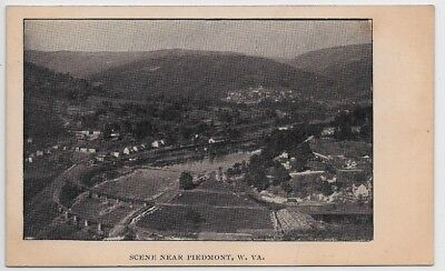 Piedmont,West Virginia-Birds Eye View-Pre 1907 UDB-Potomac River-Keyser jjh34