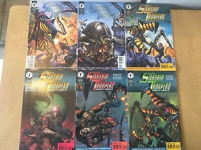 Starship Troopers: Insect Touch #1-3, Brute Creations, & Movie Adaptation #1-3