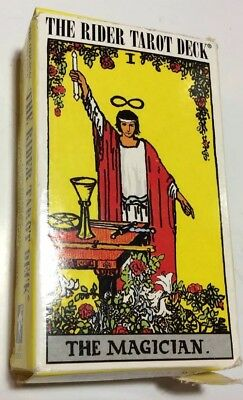 Rider Waite Tarot Card Deck 78 Cards REGULAR size + Instructions