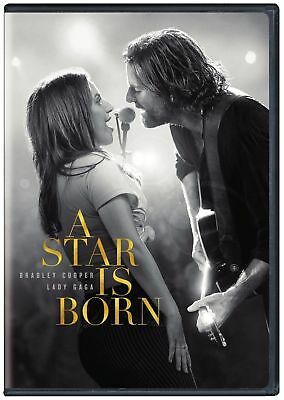 A Star Is Born 2018 DVD Lot Lady Gaga Bradley Cooper Preorder ships 2/19 Cheap!