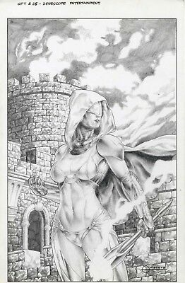 Grimm Fairy Tales issue 26 cover by Geebo Vigonte