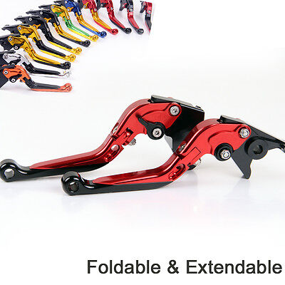 Folding Extend Brake Clutch Levers For Ducati SUPERSPORT 937/950/S 2017-2018 Red