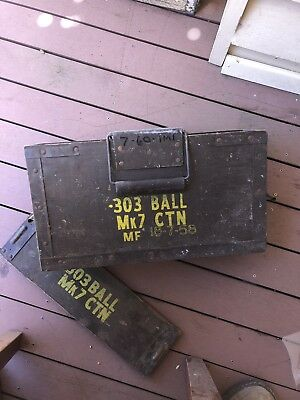 303 ammo box ammunition box