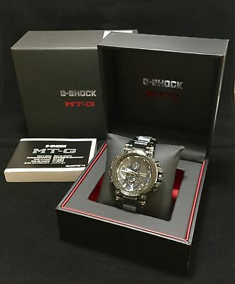 CASIO G-Shock MTG-B1000BD-1A Tough Solar Multi Band Triple G Resist Radio @