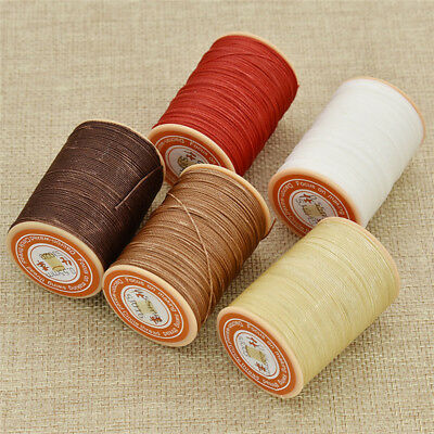 0.55mm Round Waxed Thread For Leahtercrafts DIY Sewing Accessories Jeans Clothes