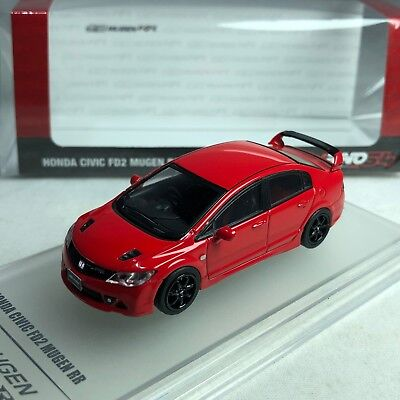 1/64 INNO64 Honda Civic FD2 MUGEN RR Red IN64-FD2R-RR Available now