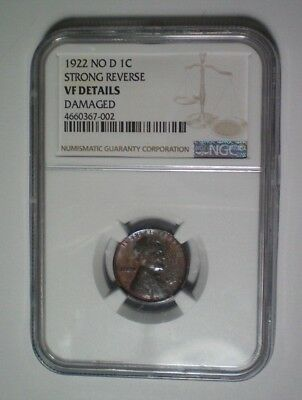 1922 No D / Strong Reverse / Ngc Vf Details