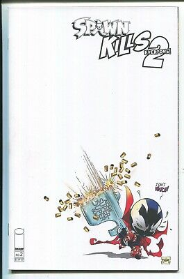 Spawn Kills Everyone Too #2 Blank Variant Cover - Image Comics/2019