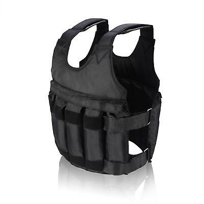 20KG Weighted Vest Weight Fitness MMA Gym Crossfit Training Sports Adjustable