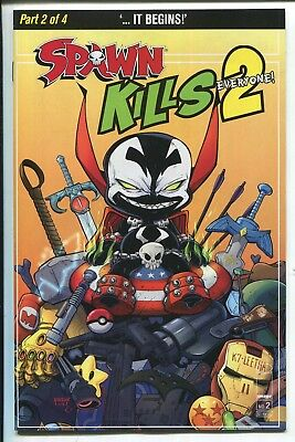Spawn Kills Everyone Too #2 Will Robson Variant Cover C - Image Comics/2019