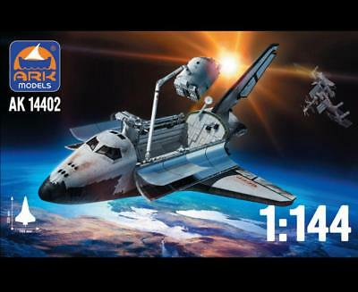 Ark Models 14402 Soviet Spaceplane Buran Scale Model Kit 1/144 New
