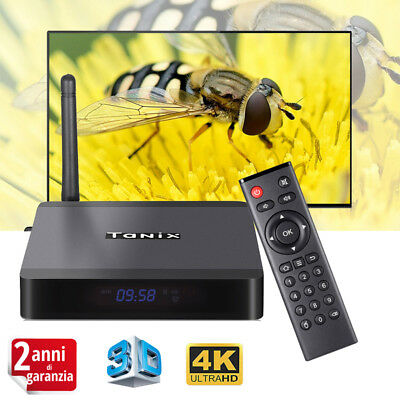 Tanix TX5 Max Android 8.1 Amlogic S905X2 4+32GB Smart TV Box Dual WiFi BT 4K 3D